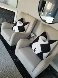 two one seater chairs for sale