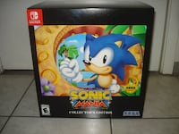 BRAND NEW Sonic Mania Collector's Switch Game!