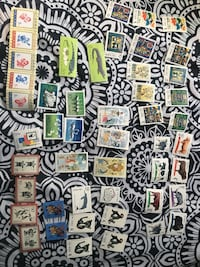 Old stamps  Long Beach, 90805