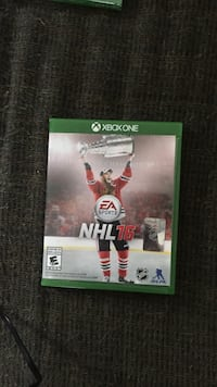 NHL 16 Xbox One case