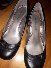 black Madden Girl leather close-toe shoes