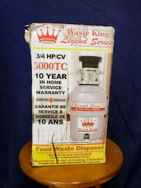 NEW waste king garbage disposal 5000TC Bettendorf, 52722