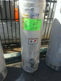 white GE water heater Los Angeles, 90001
