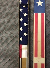 Vintage 1960s flagpole kit new in box Hagerstown, 21740
