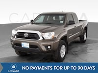 2012 Toyota Tacoma Access Cab pickup PreRunner Pickup 4D 6 ft Brown