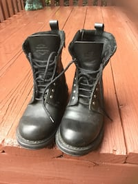 Ladies Harley Davidson leather boots Johnson City