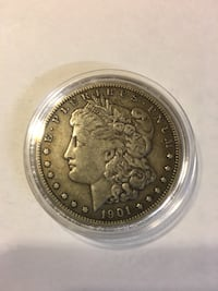 1901o Morgan Dollar Clifton, 20124