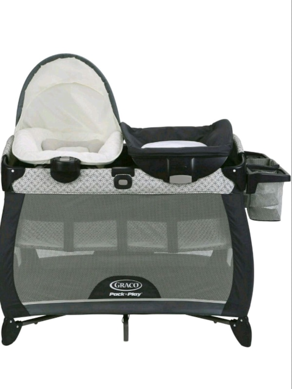 21df7a1913fe3 Used baby s black and gray Graco pack n play for sale in Northglenn - letgo