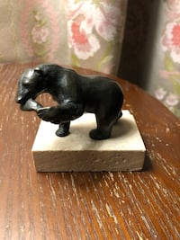 Bronze Sculpture Of Bear by Siggy Puchta Mississauga, L4Z 2W3
