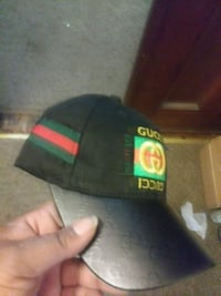 black and green fitted cap Rochester, 14613