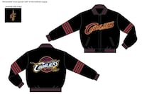 two black Cavaliers zip-up jackets