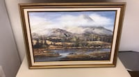 brown wooden framed painting of house Colorado Springs, 80916