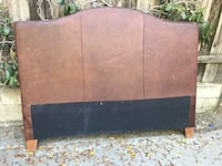 7.5 Ft Long by 5.3 ft tall leather head-bed rest bed-frame board Los Angeles, 91335