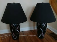 Set of 2 Beautiful Painted Lamps Toronto, M1B 6G9