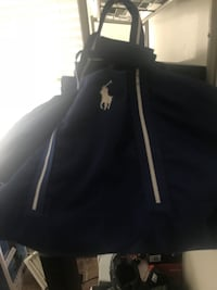 Polo bag blue and white  Riverdale, 20737