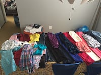 Girl's 7-8 year clothing lot