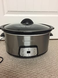 gray and black Hamilton Beach slow cooker Edmonton, T5E 3M7