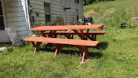 8' detached bench picnic table Spring Grove, 17362