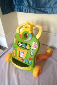 toddler's yellow, green, and orange activity learning walker Jennings, 63136