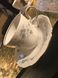 white and gray floral ceramic bowl Pasco, 99301