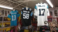 Autographed panther stitched jerseys Newton, 28658