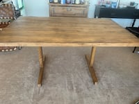 Handcrafted solid wood butcher block table Arlington, 22203