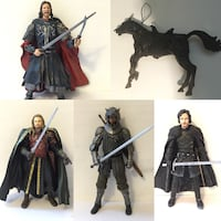 Fantasy action figures Game of thrones lord of the rings Port Perry, L9L 1B5