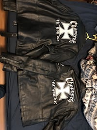 Men and women's leather riding jackets $150.00 each or $250 for the set Honesdale, 18431