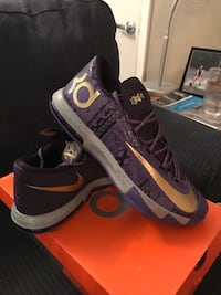 KD Limited edition Black History Month shoes. Size 12. Never been worn   New Albany, 47150