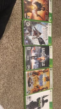 four Xbox 360 game cases Calgary, T3A 5X7