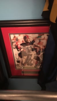 Drew Bledsoe framed photo Burlington, L7M 0C8