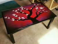Spray painted coffee table that I did Fort Wayne