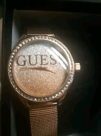 Rose Gold Guess watch ,new
