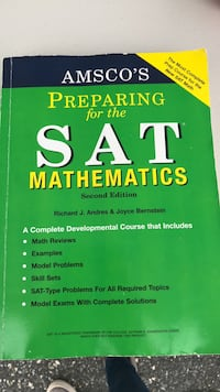 The Official SAT study guide book Baltimore, 21224