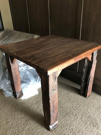 Wooden Table- 3ftx3ftx29H Lake Country, V4V 2C6