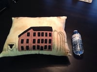 Beautiful hand stitched pillow Orangeville