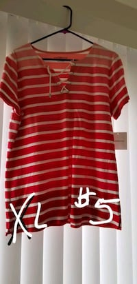 red and white striped polo shirt Lompoc, 93436