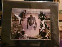 Ray Lewis 16 x 20 matted print Baltimore, 21206