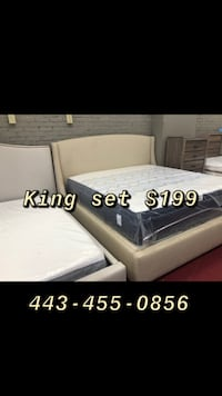 King Mattress free box spring  Silver Spring, 20901