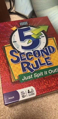 5 Second Rule Game Haverhill, 01832