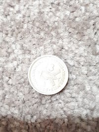 round silver-colored coin Westbank, V4T 2W3