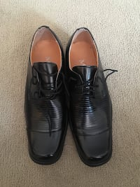 Black dressed shoe for young men