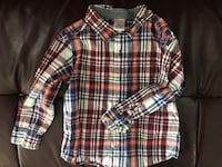 white, red, and blue plaid sport shirt Mississauga, L5N 8K6