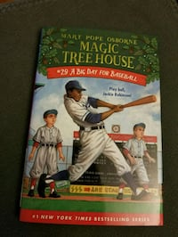 Magic Treehouse -A Big Day For Baseball (hardcover Toronto, M5S 1S5