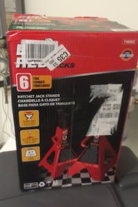6 Ton Jack Stands NEW Unopened