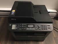 Brother MFC7860DW Wireless multifunction Printer with Scanner, Copier & Fax