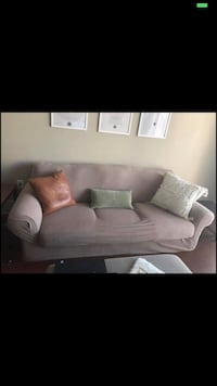 Black Couch with Tan Slip  Charlotte, 28202