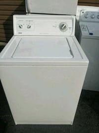 white top-load clothes washer Suitland-Silver Hill, 20746