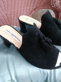 KARL LAGERFELD SUEDE SHOES