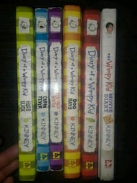 Diary of a wimpy kid collection bundle 6 books Fort Worth, 76114